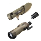 Nikon RAIII WP 82mm Straight Spotting Scope - Green, 16-48x Zoom Eyepiece, Stay On Case