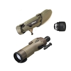 Nikon RAIII WP 82mm Straight Spotting Scope - Green, 25x RAIII Eyepiece, Stay On Case