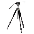 Opticron Traveller Carbon Fibre Pro Tripod and Manfrotto 701HDV 2-Way Panhead Wt:2142g