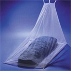 Pyramid Ultra Midge and Mosquito Net - White Single Wedge