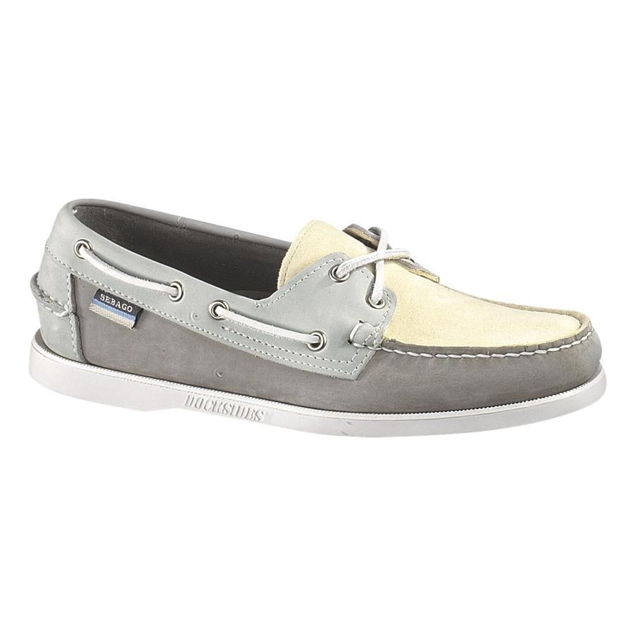 sebago dockside spinnaker boat shoe s grey