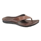 Sebago Port Thong Flip-Flops - Dark Brown (Men's)