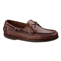 Sebago Schooner Shoe (Men's) - Brown Oiled Waxy