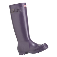Hunter Original Wellington Boots (Unisex) - Aubergine